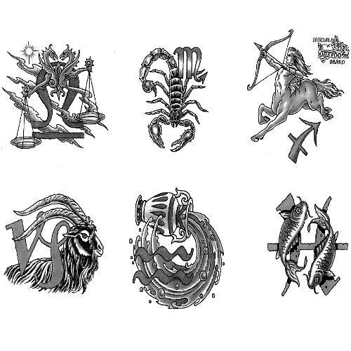 Wzory Tatuażu Zodiak Monika Wypożyczalnia Sprzętu